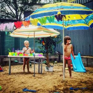 Den na pláži u Chůviček -léto 2016
