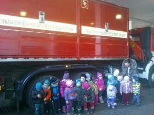 Výlet k hasičům